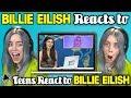 Mantul Billie Eilish Reacts To Teens React