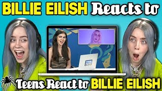 [10.32 MB] Billie Eilish Reacts To Teens React To Billie Eilish