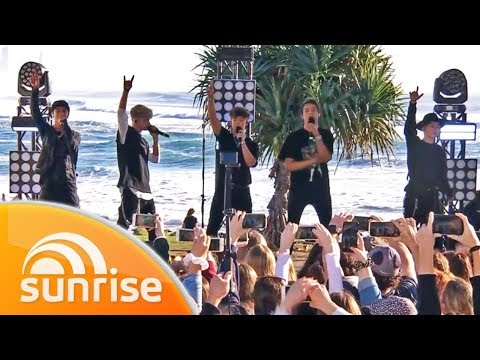 Why Don't We Perform 'I Don't Belong In This Club' Live On The Gold Coast | Sunrise