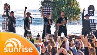 Download lagu Why Don't We perform 'I Don't Belong In This Club' live on the Gold Coast | Sunrise