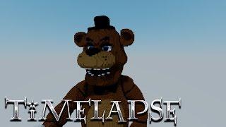 [Minecraft Timelapse] Five Nights at Freddy's - Freddy Fazbear