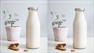 How to Make Almond Milk | Zero Waste
