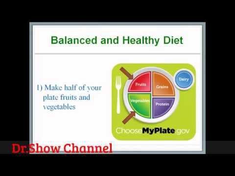 Healthy Diet - Dr. Show
