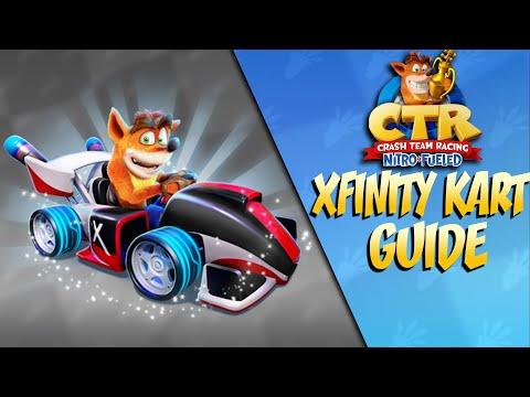 Crash Team Racing Nitro-Fueled : How To Get The Xfinity Flash Kart