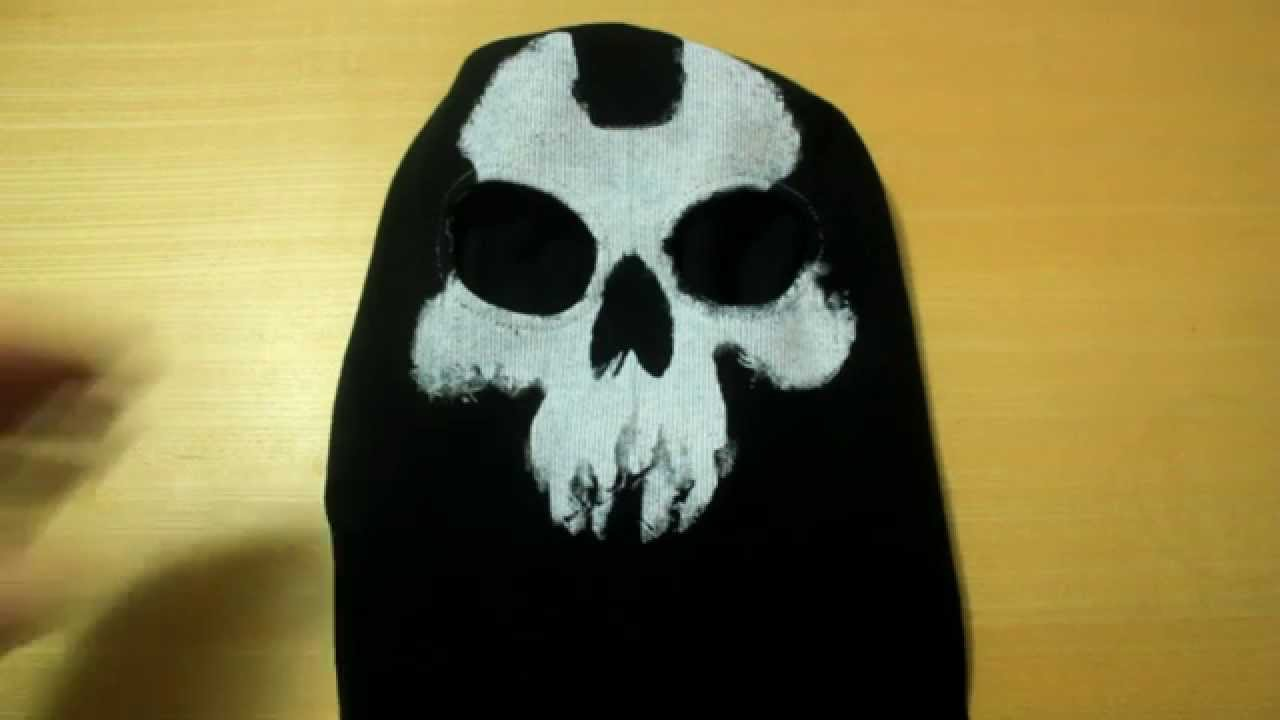 Real Ajax Call Of Duty Ghosts Mask Balaclava Ghost