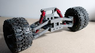3D Printed Dual Wishbone Suspension Subframe