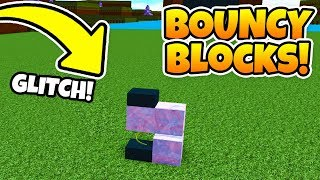 how to make BOUNCY BLOCKS! | Build a boat For Treasure ROBLOX