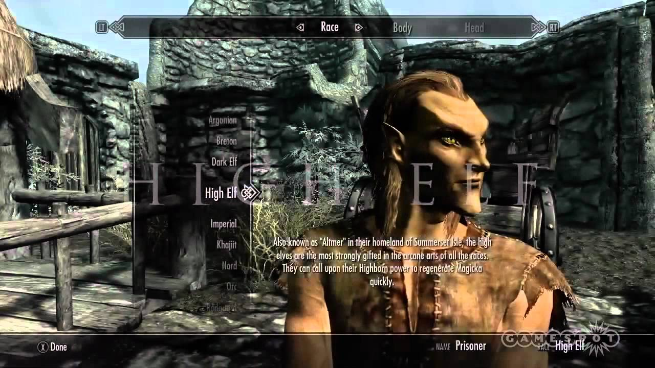 A character creation guide the elder scrolls v skyrim youtube maxwellsz