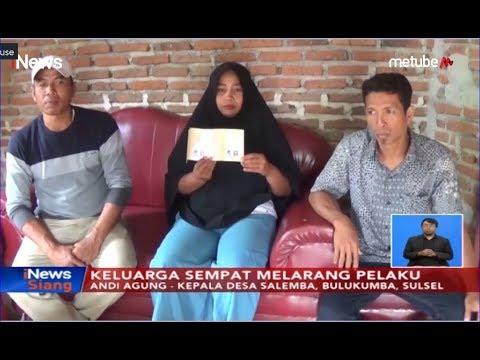 Heboh! Pernikahan Inses Di Bulukumba Hingga Hamil 4 Bulan - INews Siang 03/07
