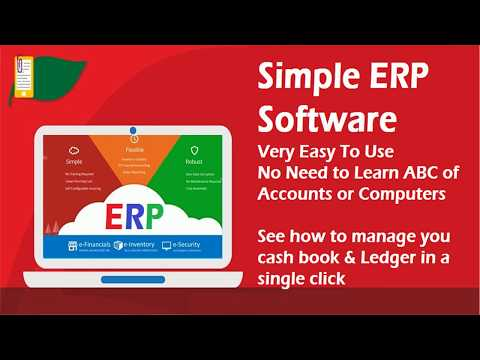 ERP Software  How to maintain Your Cash Book using Live Training Video