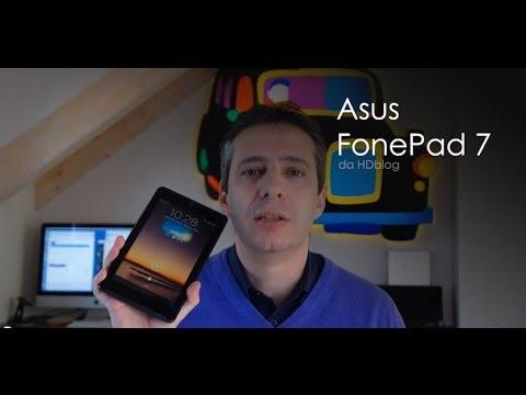 Asus FonePad 7 la videoprova di HDblog.it