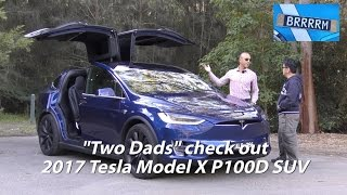 "2017 Tesla Model X P100D SUV (Review) | ""Two Dads"" from BRRRRM Australia"