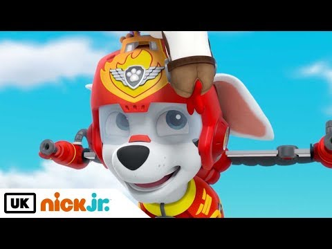 Paw Patrol | Pups Save a Plane | Nick Jr. UK