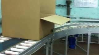 видео: Работа конвейера упаковки - ПТМ40.РФ