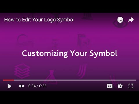 Logo Maker Tutorial: Editing the Symbol
