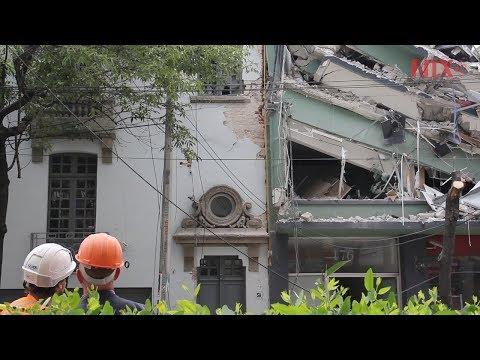 Colonia Roma, zona de peligro después del sismo