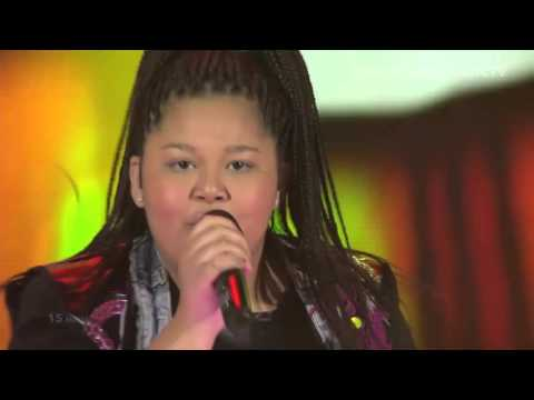 Destiny Chukunyere - Not My Soul (Malta) LIVE Junior Eurovision Song Contest 2015