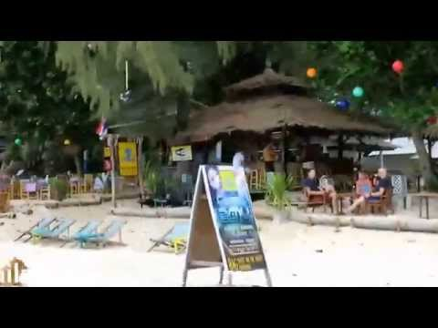 Ko Lanta - Long Beach the north part 01 (zone bar, funky fish)