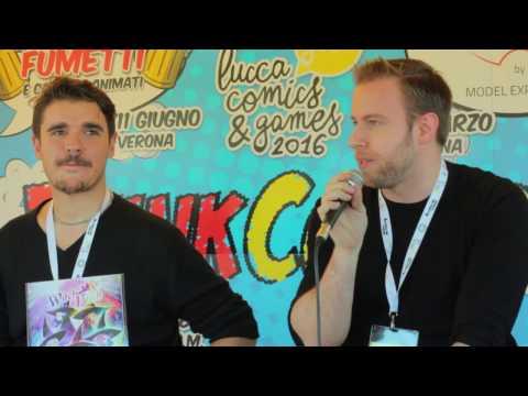 MARCO ALBIERO e IMMANUEL CASTO - Lucca Comics - Spazio Think Comics