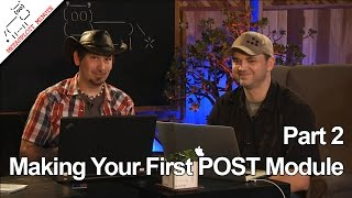 Making Your First POST Module, PART 2