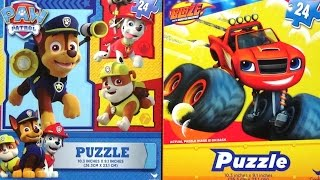 PAW PATROL Puzzle for Kids & Toddlers BLAZE and the MONSTER MACHINES Jigsaw Puzzle Kids Game