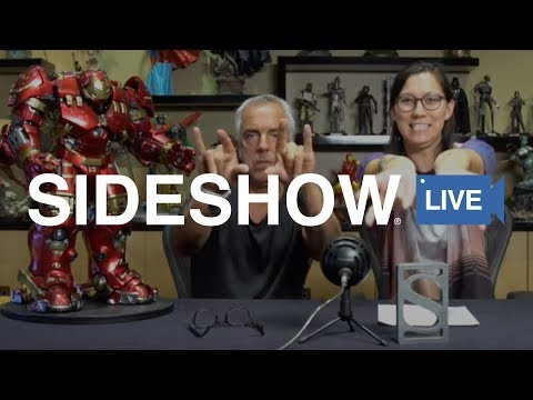 Titus Welliver Unboxes the Hulkbuster  Side LIVE
