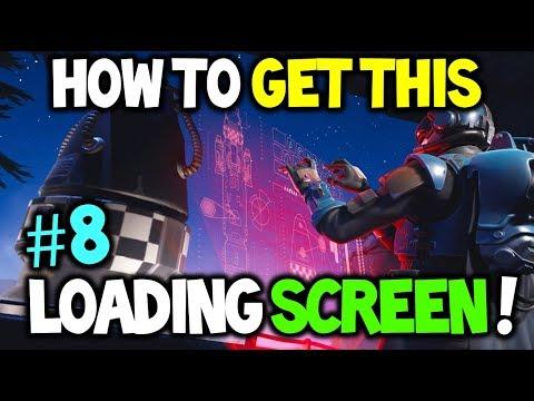 How To Unlock The SECRET #8 LOADING SCREEN! *BLOCKBUSTER #8* Fortnite Secret Loading Screen (Week 8)