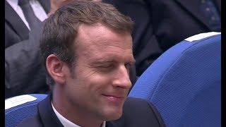 Aides aux territoires : Le clin d'oeil complice d'Emmanuel Macron à Gérard Larcher