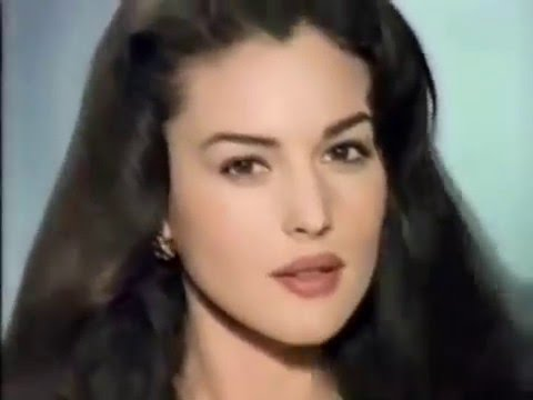 Monica Bellucci L'Orеal commercial 1992 - YouTube