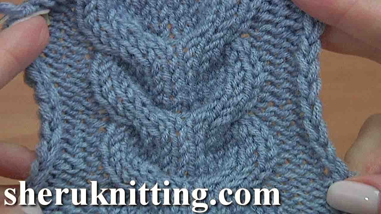 How To Knit Horseshoe Cable Stitch Tutorial 24 Knitting Stitch