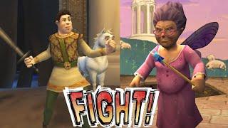 Прохождение игры Shrek 2: The game [#9] (Финалочка с феей)