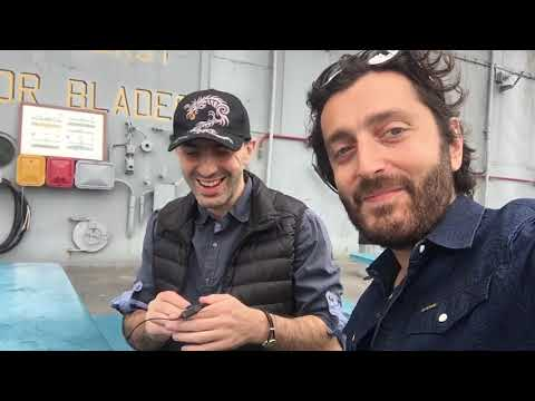 Coindaddy and Tone Vays on the USS Hornet