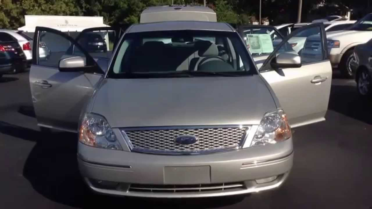 2007 silver ford 500 mullinax lincoln automotive stk 5364