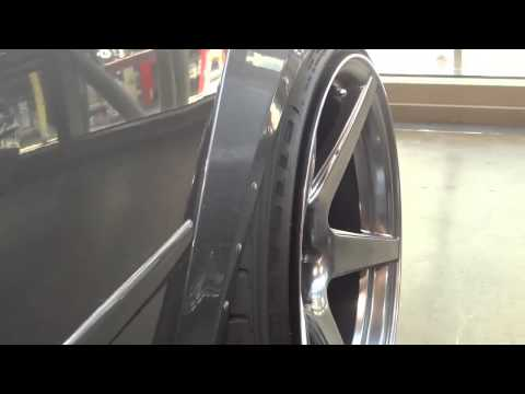 Widebody Jetta With Rolled Fenders And Stretched Tires