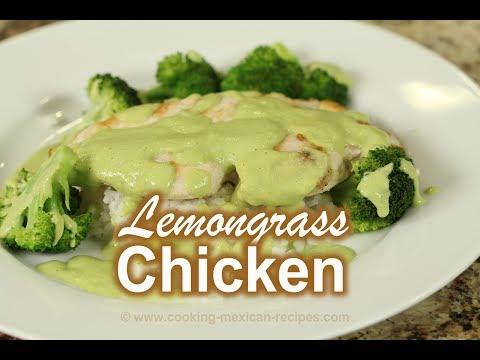How To Make Lemongrass Chicken | Healthy Recipe | Rockin Robin Cooks