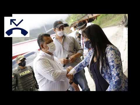 Gobernador Ricardo Orozco estuvo en  Tapias y  habló de reactivación para el sector campesino
