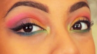 Rainbow Eyes Tutorial Thumbnail