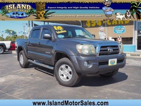 Toyota Merritt Island >> 2010 Toyota Tacoma Prerunner V6 Merritt Island Florida