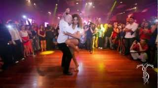 ATACA & LA ALEMANA Bachata Dance Performance 40 MILLION VIEW PARTY @ THE SALSA ROOM