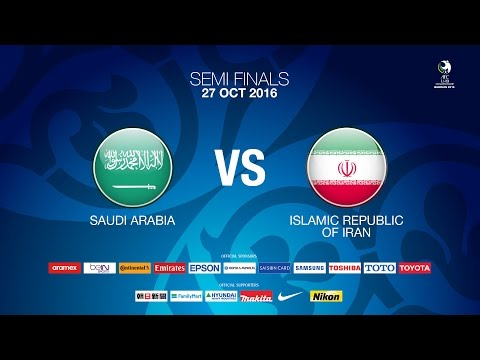 #AFCU19 Semi Final 2 - Saudi Arabia vs IR Iran - News Report