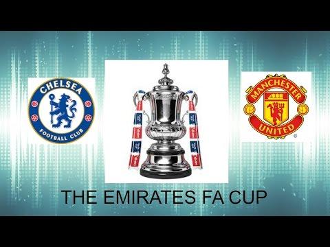 FIFA17 The Emirates FA CUP-Chelsea vs Man.United-Conte vs Murinho