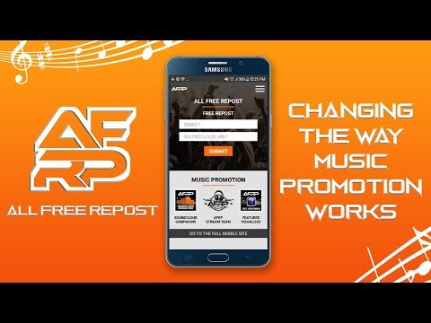 All Free Repost - Music Promotion - Apps on Google Play