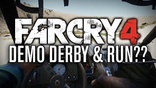 DEMO DERBY &... RUN?? | Far Cry 4 Custom Maps #5