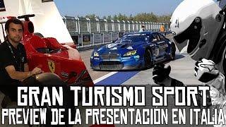 Gran Turismo Sport || Presentación mundial en Italia: preview musical