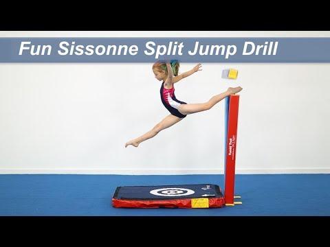 Fun Sissonne Split Jump Drill