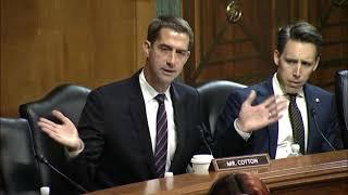 October 5, 2021: Senator Cotton Q&A During a Senate Judiciary Committee Hearing