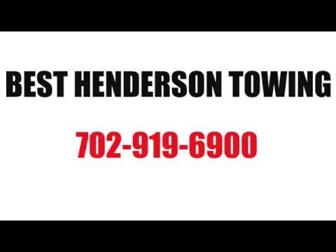 Henderson Nevada Tow Truck