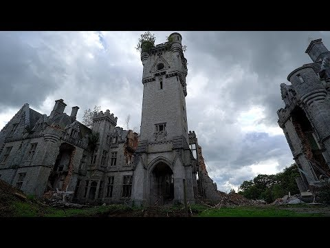 Abandoned Gothic Castle - I Was Too Late...