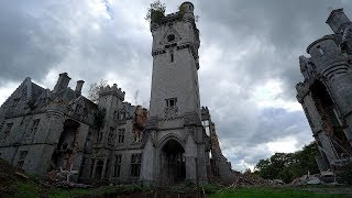 gothic castle abandoned dungeon too inside late build