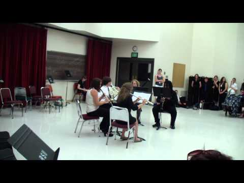Boise State Chamber Music Camp Woodwinds Quintet